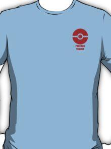 Subtle pokeball pokemon logo red - pokemon trainer T-Shirt