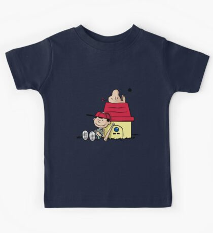 Earthbrown: A Boy and his Saturn 2.0 Kids Tee