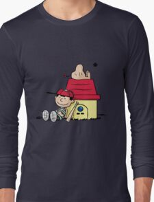 Earthbrown: A Boy and his Saturn 2.0 Long Sleeve T-Shirt