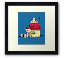 Earthbrown: A Boy and his Saturn 2.0 Framed Print