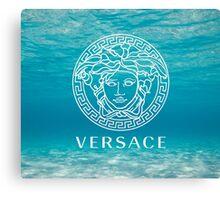 Beach Versace Canvas Print