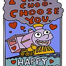 I Choo Choo Choose You... by ToruandMidori