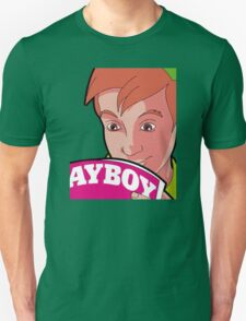 The Private Life Of A Comic Peter Pan Reading Playboy! T-Shirt