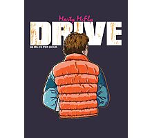 Back to the Future - Drive (Marty Mcfly) Photographic Print