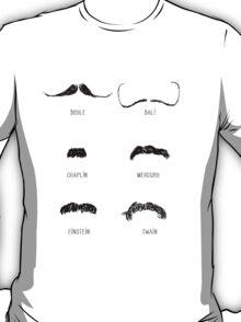 Famous Moustaches T-Shirt