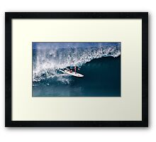 The Art Of Surfing In Hawaii 16 Framed Print