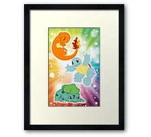 Primary Three Framed Print