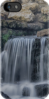 MOTE FALLS i Iphone Case by Rob  Toombs