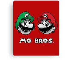 Mo Bros. Canvas Print