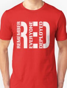 RED - Red on Fridays Unisex T-Shirt