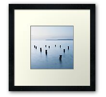 The Old Victorian Pier Framed Print