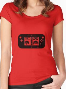 Nintendo Controller History Women's Fitted Scoop T-Shirt