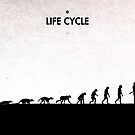 99 Steps of Progress - Life cycle by maentis