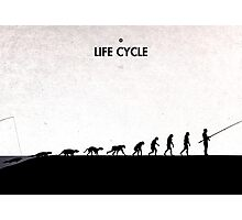 99 Steps of Progress - Life cycle Photographic Print