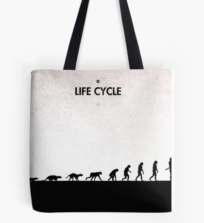 99 Steps of Progress - Life cycle Tote Bag