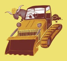Bulldozin' Kids Tee