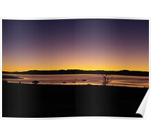 First morning light, Mono Lake, California Poster