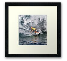 The Art Of Surfing In Hawaii 17 Framed Print