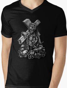 Winya No.8 Mens V-Neck T-Shirt