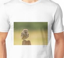 Little owl balancing  Unisex T-Shirt