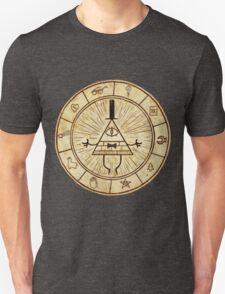 Bill Cipher Circle - Grafity Falls T-Shirt