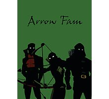 The Arrowfam in Young Justice Photographic Print