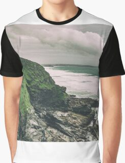 Landslides and Storm Clouds Graphic T-Shirt