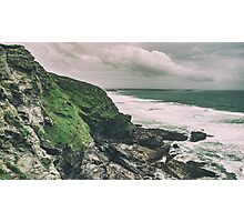 Landslides and Storm Clouds Photographic Print