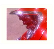 Fifties Tail Light Art Print