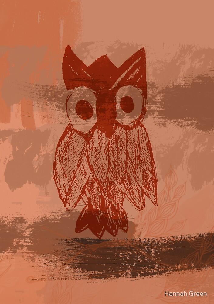 Owl by Hannah Green