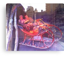 Christmas Sleigh Canvas Print
