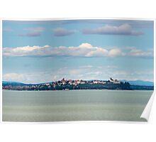 Castiglione del lago, Lago Trasimeno, Umbria Poster