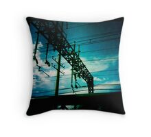 Railway structure Throw Pillow