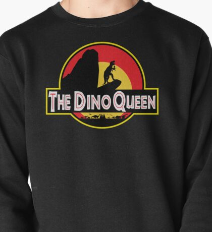 The Dino Queen Pullover