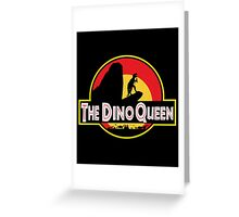 The Dino Queen Greeting Card
