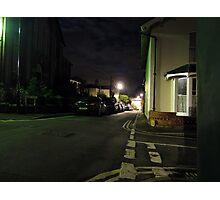 Mid Light Street Photographic Print