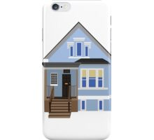 Blue House iPhone Case/Skin