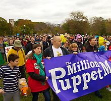 Million Puppet March by Edward Perry