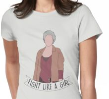 Fight Like Carol Womens Fitted T-Shirt