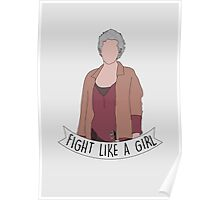 Fight Like Carol Poster