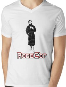 RobeCop Mens V-Neck T-Shirt