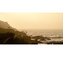 Sunset Surf Photographic Print