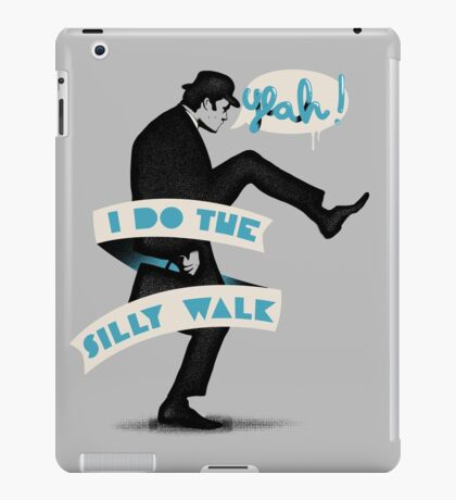 Silly walk iPad Case/Skin