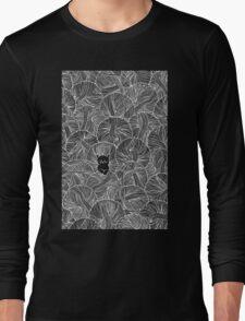 Yarn Ball Pit in Black Long Sleeve T-Shirt