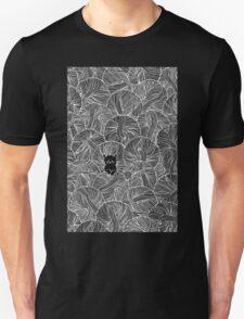 Yarn Ball Pit in Black Unisex T-Shirt
