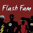 The Flashfam in Young Justice by YJTees