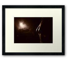 Model Oz V Framed Print