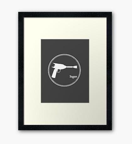 Raygun! Framed Print