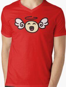 Doodle Angel Mens V-Neck T-Shirt