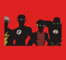 The Flashfam in Young Justice T-Shirt